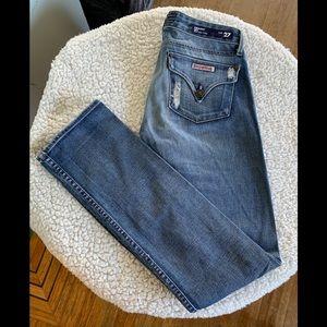 Hudson Straight Leg Jean